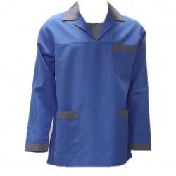 Mavi-Gri Tek Ceket