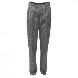 Siyah-Beyaz  Aşcı Pantolon